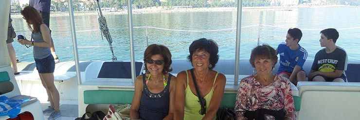 Spanish courses in Spain for mature students, Spanish courses for students in their 50's and 60's, Spanish courses for 50+ in Malaga Spain